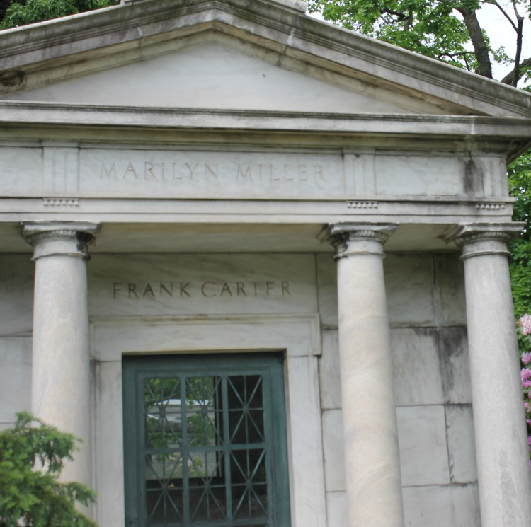 A Vintage Nerd, Silent Film Stars Graves, Woodlawn Cemetery, Vintage Blog, Where Old Hollywood Stars are Buried, Marilyn Miller Grave