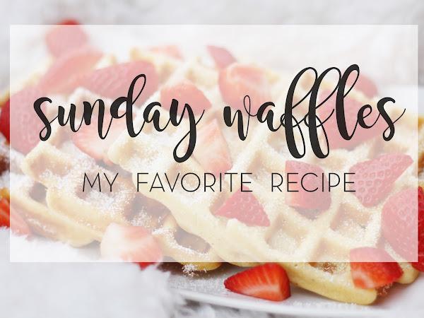 Sunday Waffles | Mein liebstes Waffelrezept