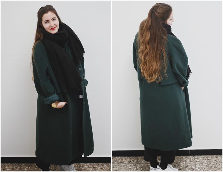 vintage coat Mantel outfit
