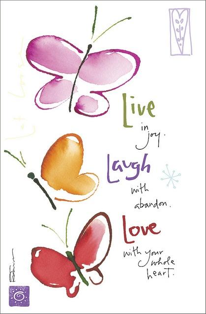 inspirational picture quotes live laugh love. Black Bedroom Furniture Sets. Home Design Ideas