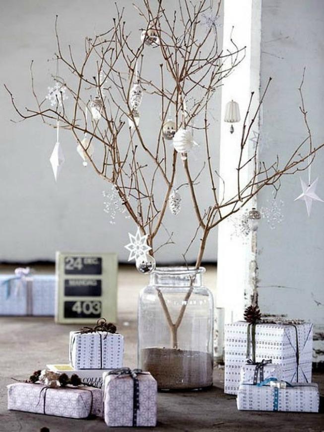 ramas secas para navidad