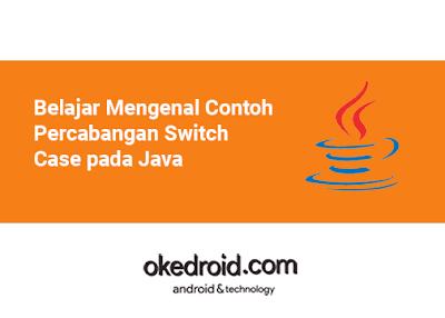 Belajar Mengenal Contoh Program Soal Percabangan Switch Case di Bahasa Pemrograman Java