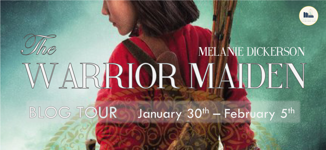 Heidi Reads   : Review & Giveaway: The Warrior Maiden by Melanie