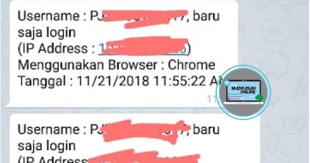 Fungsi ID Telegram Pada BIOUN SMP/MTs, SMA/MA Tahun