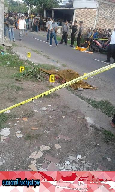 Pembunuhan Sadis Menggemparkan Warga Desa Bangoan Setelah Digorok Tetangganya Sendiri
