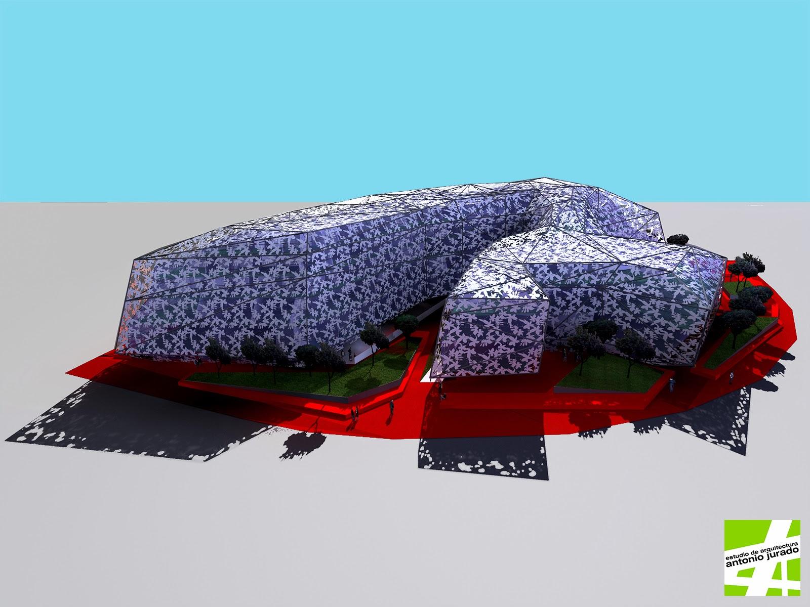 facultad psicologia malaga arquitecto antonio jurado concurso ideas