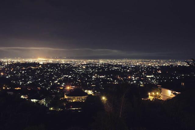 foto indah dari bukit gombel semarang
