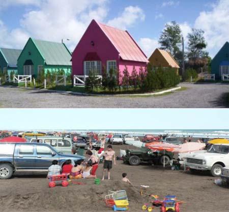 Cabina de playa 11 - 5 8
