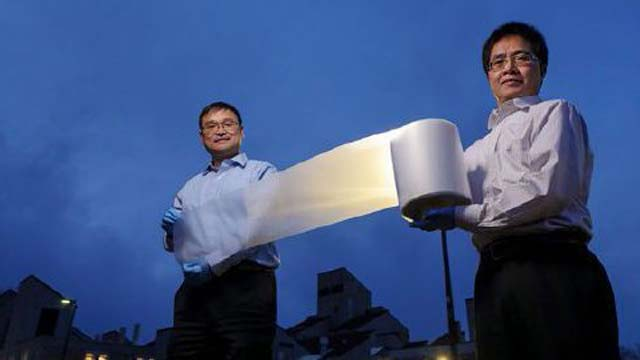 Scientists invented thin material that acts as Air Conditioner