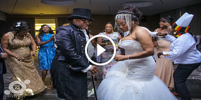 VIDEO. Mariage de l\u0027Honorable Zacharie Bababaswe Mbanga Danger