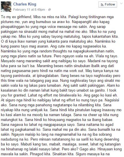 sweet message tagalog for boyfriend