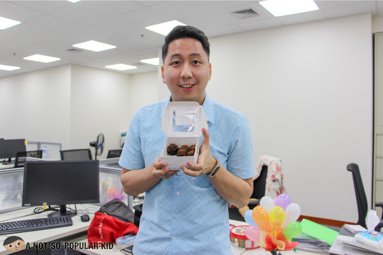 Renz Cheng and Choco Munchies of Scrumptious PH