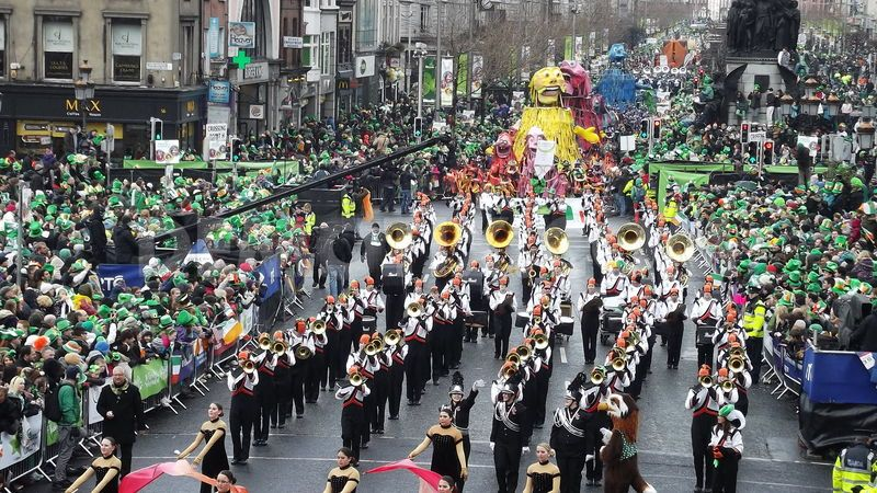 Day Parades Route Time St Patricks 2017 Pictures Images