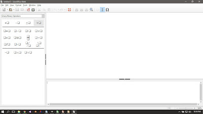 Libre Office Math Running on Windows 10