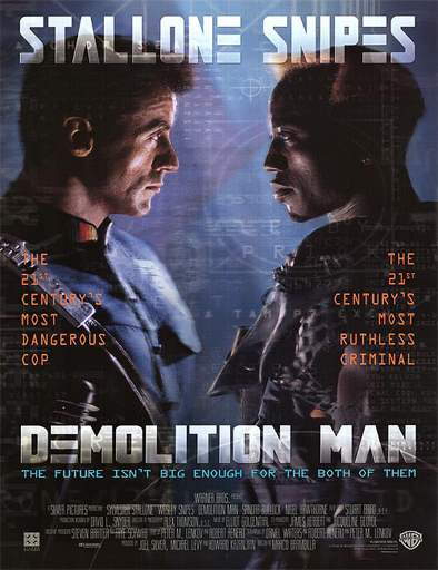 Ver El demoledor (Demolition Man) (1993) Online
