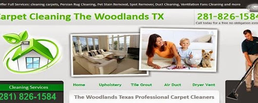 TX The Woodlands Carpet Cleaning
