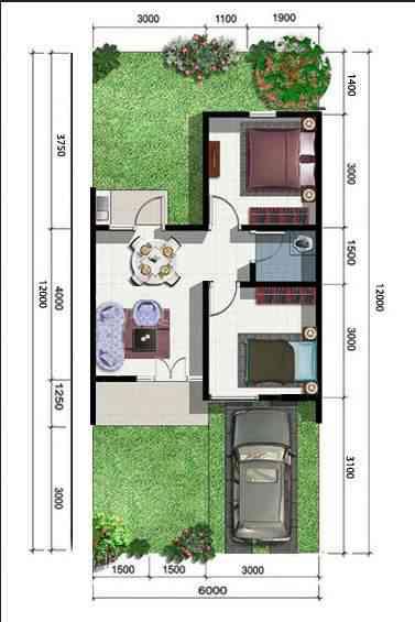 Rumah Type 36 Desain Bangunrumah Com