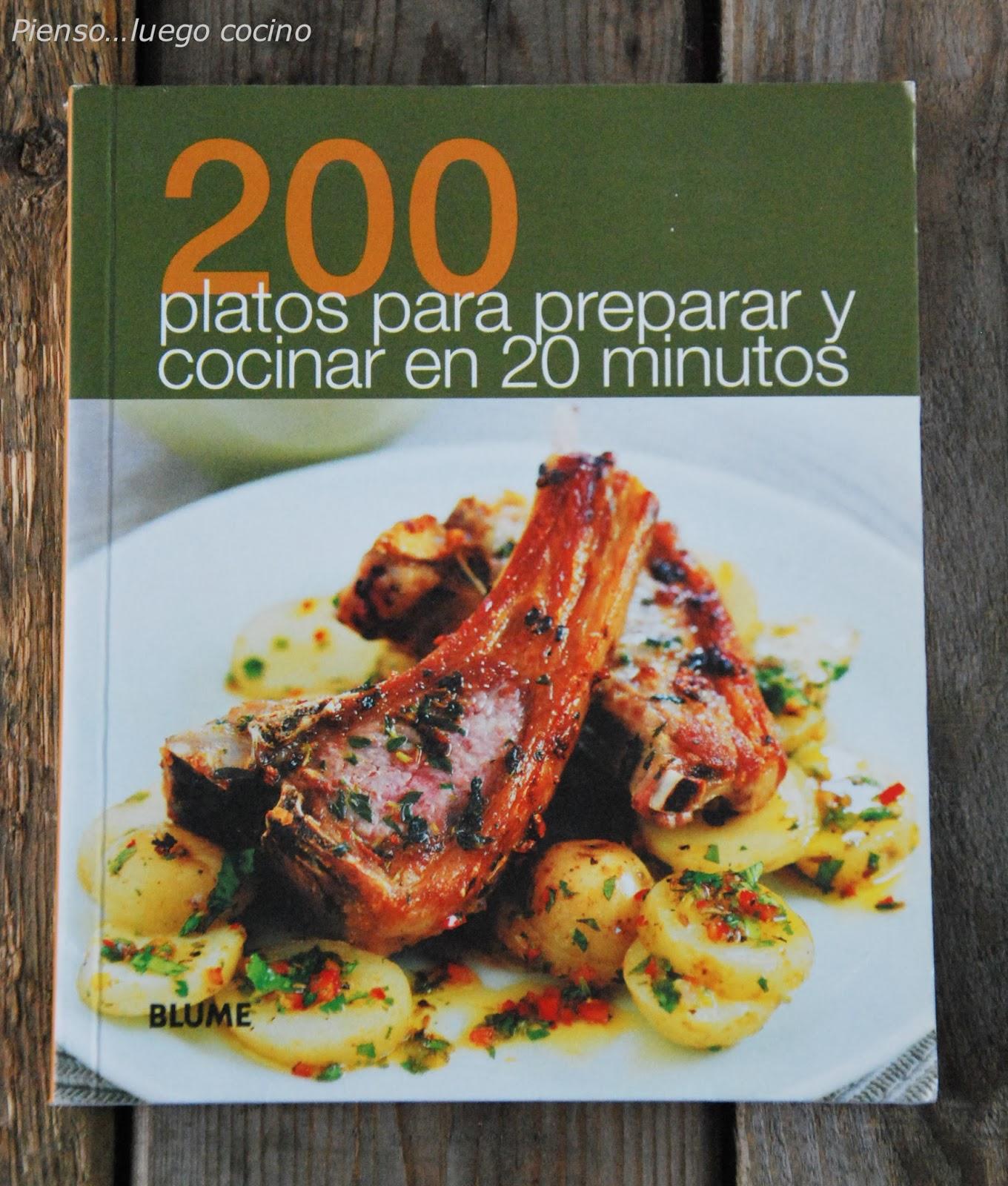 Pienso luego cocino 200 platos para preparar y cocinar for Platos faciles de cocinar