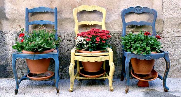 Las sillas en la decoracion decoambrosia