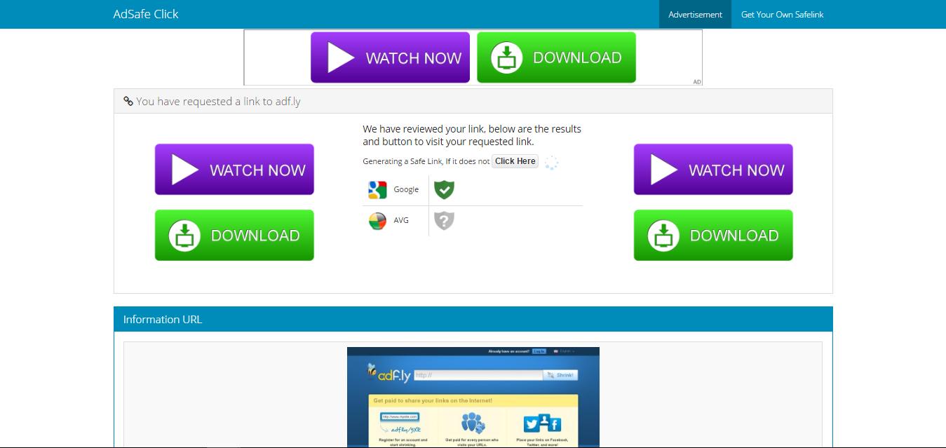 Site Info Theme - AdSafe Click