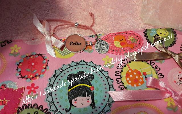 pulsera artesanal infantil nombre