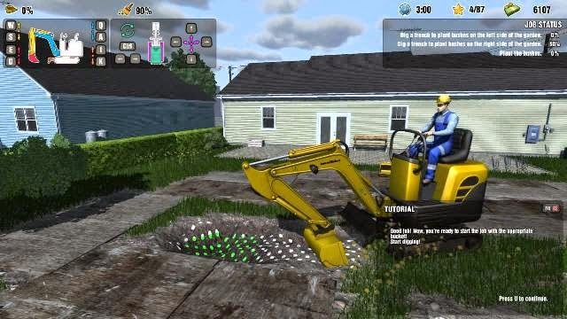 excavator simulator game free download