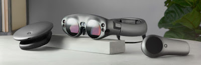 Augmented Reality Goggles by Magic lea