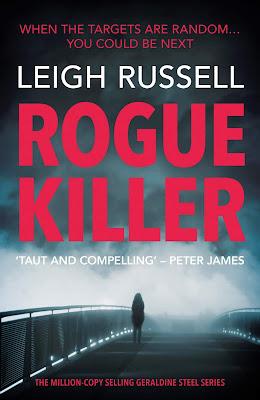 Rogue Killer by Leigh Russell - Blog Tour Spotlight