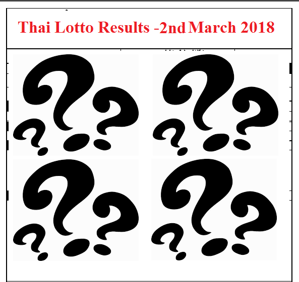 Thailand Lottery Game