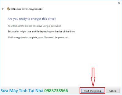 Đặt mật khẩu ổ cứng bằng BitLocker - H07