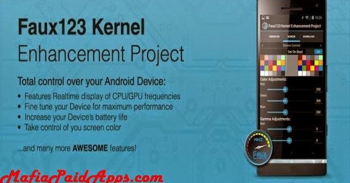 Faux123 Kernel Enhancement Pro v2 5 9 (Patched) Apk