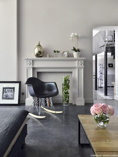 pellmell cr ations home tour une ancienne clinique r nov e en habitation bordeaux. Black Bedroom Furniture Sets. Home Design Ideas