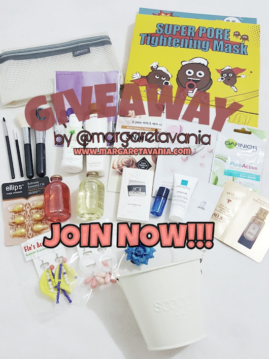 Giveaway : Skincare x Bodycare 2nd Giveaway in 2018 [INSTAGRAM ONLY]