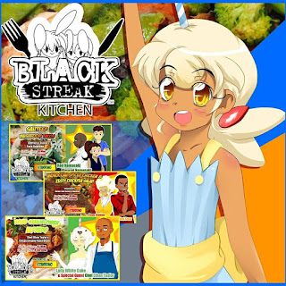 Black Streak Kitchen Comics