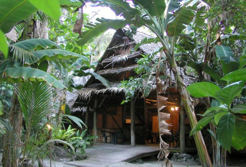 Entrada Villa Kosrae