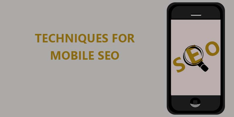 Best techniques for mobile seo