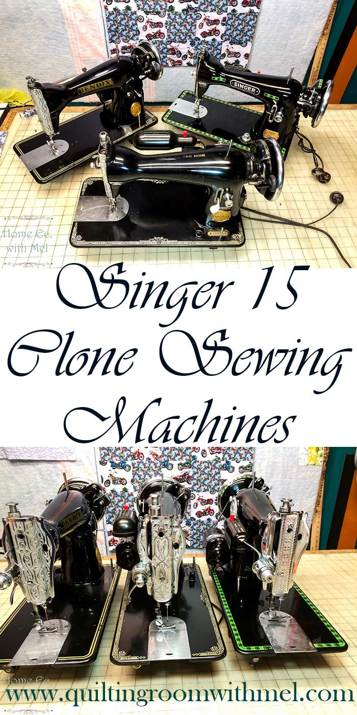 singer 15 clone sewing machines