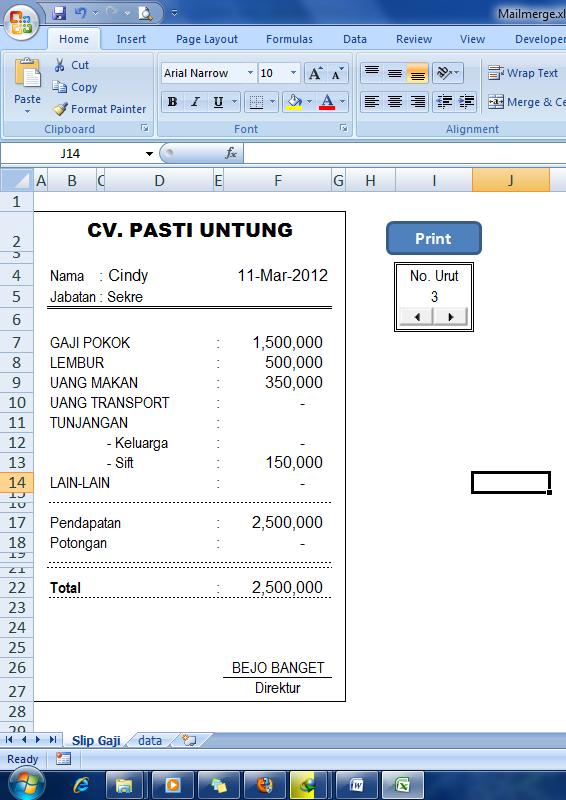 1 Microsof1 Microsofmail At Abc Microsoft Company: Catatan Ngalor-ngidul: Mail Merge Di Microsoft Excel
