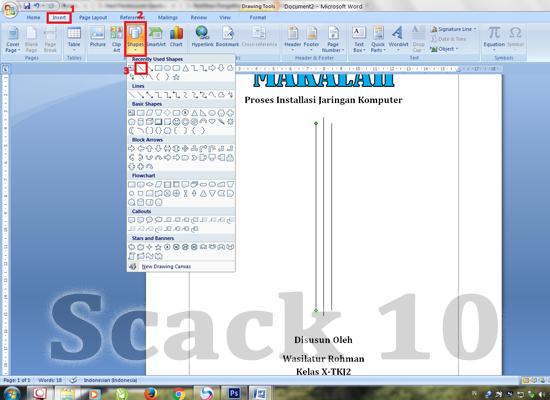Cara Membuat Cover Makalah Di Microsoft Office Word 2007 Belajar