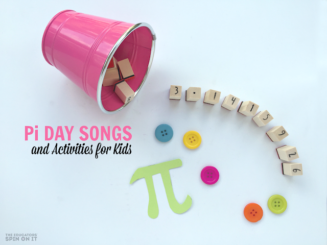 Pi Themed Song Videos on Youtube for Kids Plus Pi Day Activities