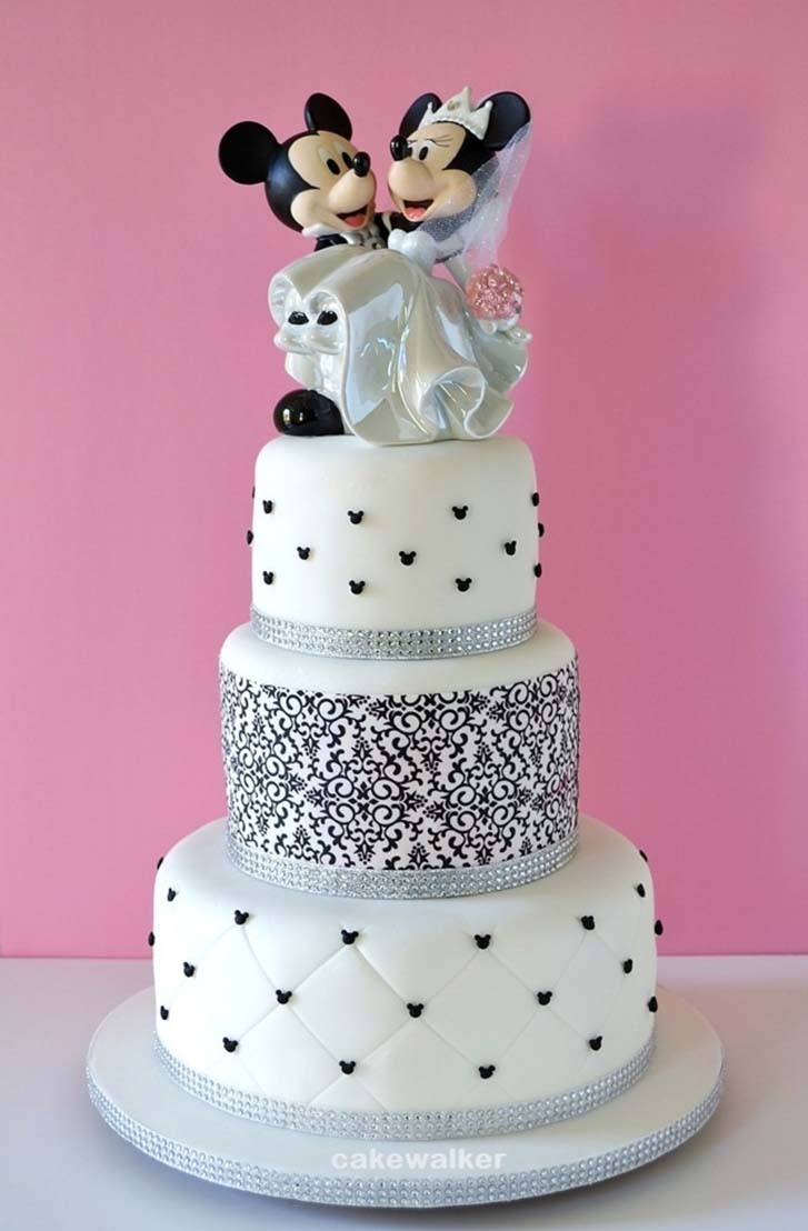 Wedding Cake Toppers Disney Theme