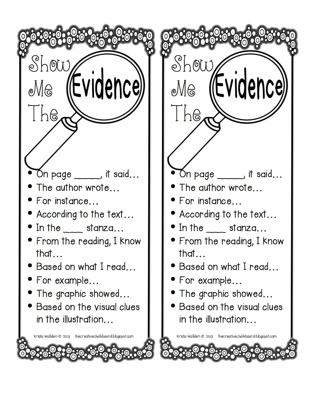 Middle school informative essay rubric