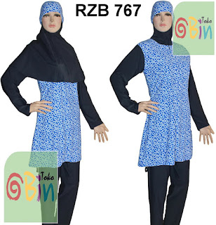 baju renang muslimah RZB 767