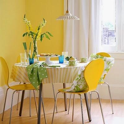 Comedor amarillo