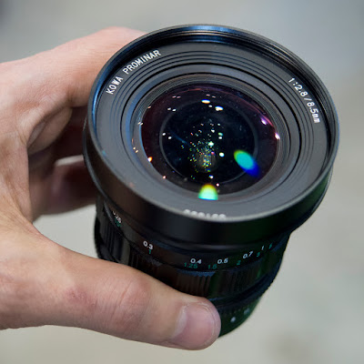Kowa Prominar 8.5mm f/2.8 T2.9