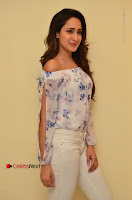 Actress Pragya Jaiswal Latest Pos in White Denim Jeans at Nakshatram Movie Teaser Launch  0024.JPG