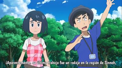 Pokemon Sol y Luna Capitulo 113 Temporada 20 ¿Un nuevo show? La pequeña melodía de Magikarp