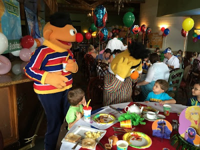 Beaches Resorts Turks and Caicos Sesame Street Character Breakfast