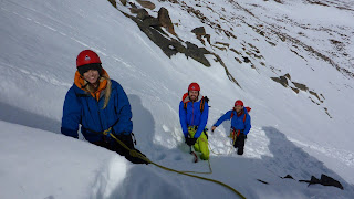 Spring winter skills and winter mountaineering course in the Cairngorms