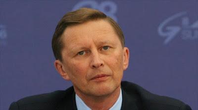 El jefe de la administración del Kremlin, Serguei Ivanov.